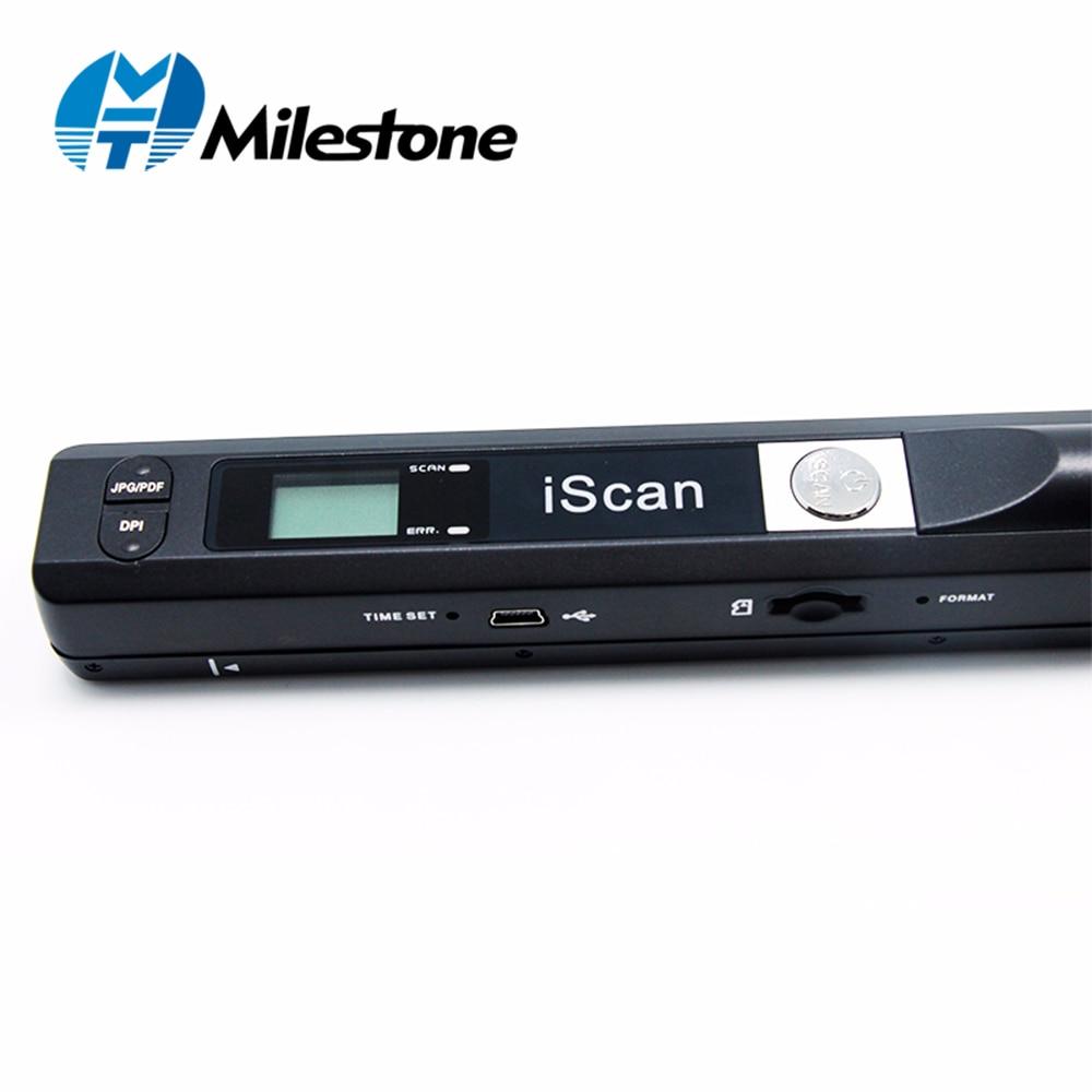 Milestone Беспроводной сканер Document Scan A4 Файл документы Поддержка окна Системы устройство для школы/больницы/банка MHT-IScan01