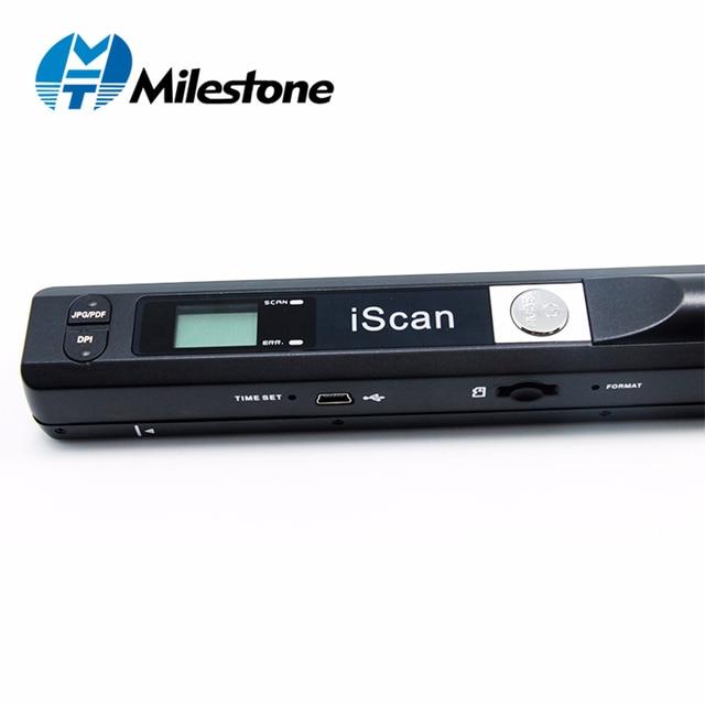 Milestone Không Dây Máy Quét Tài Liệu Quét A4 Tập Tin Giấy Tờ Hỗ Trợ Cửa Sổ Hệ Thống Thiết Bị cho các Trường Học/Bệnh Viện/Ngân Hàng MHT-IScan01