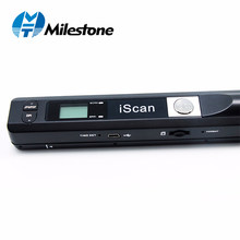 Milestone Wireless Document Scanner Scan A4 File Papers Support Window System Device for School/Hospital/Bank MHT-IScan01(China)