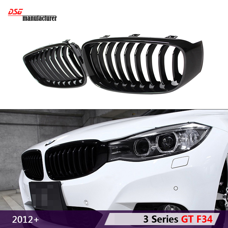 f34 abs front bumper air grille m3 car styling racing grill for bmw 3 series gt F34 gran turismo 320i 328i 335i 318d 328d 325d фаркоп aragon на bmw serie 3 f34 gt 2012 тип крюка a г в н 1800 75кг e0800ja