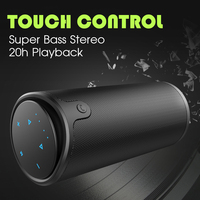 ZEALOT S8 3D HiFi Stereo Bluetooth Speaker Wireless Touch Control Subwoofer Handsfree With Microphone Support TF