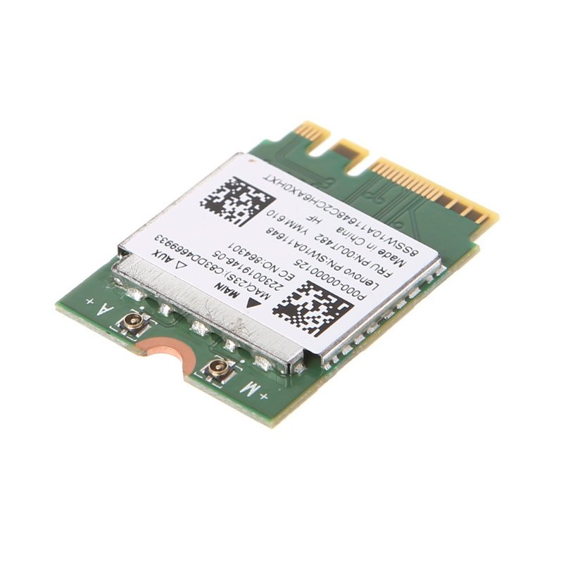 Dual Band 2.4+5 GHz 433M Bluetooth V4.0 NGFF M.2 Wireless Card For RTL8821AE