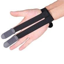 Высокая Гибкость 2 Пальцев Рукава Спорт охрана Палец Коррекции Реабилитации Обучение Облегчить Боли Медицинского Оборудования
