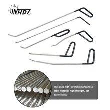 WHDZ 6PCS PDR Tool Kit - Perfect for Door Dings Hail Repair and Dent Removal POD Hook - Dent Repair Tool Set (C) whdz 3pcs pdr rods hook wedge for door dings hail repair and dent removal automotive dent removal pdr hail repair b7 c5 c6