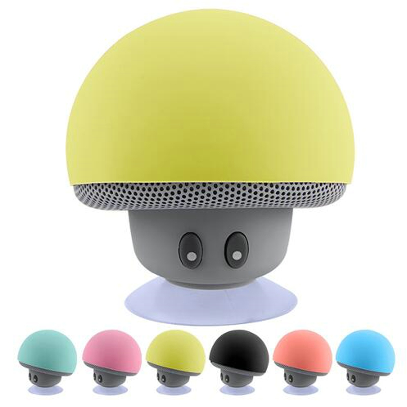 Беспроводной Bluetooth Динамик Портативный мини Колонки гриб Водонепроницаемый бас стерео Динамик с микрофоном для мобильного телефона компьютер HYT
