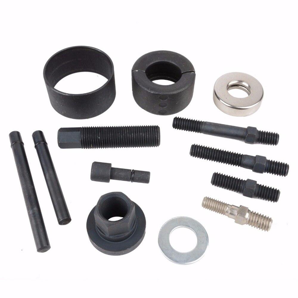 12pcs Pulley Puller Installer Remover Kit Power Steering Pump Alternator Case Repair Tool Socket Tool Kit MAYITR in Engine Care from Automobiles Motorcycles
