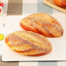 1 Piece Creative Artificial Bread PU Simulation Dining Table Decorations Restaurant Bakery Fake Breads