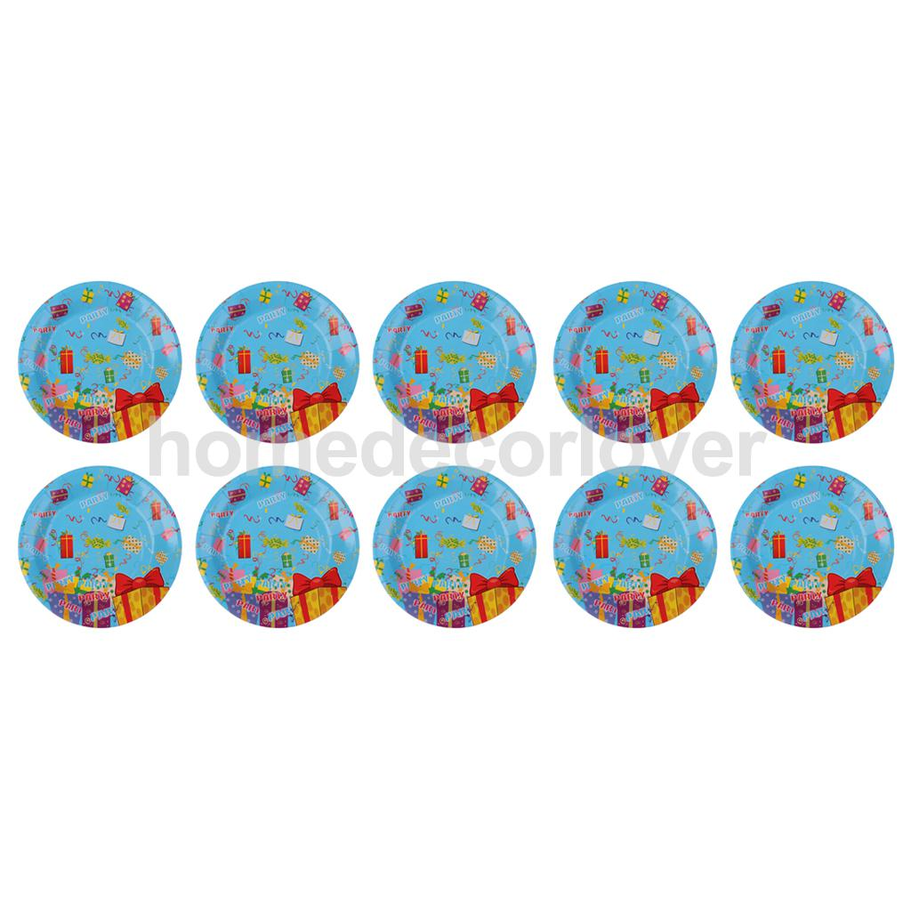 10 Pieces 7 Inch Round Gift Boxes Paper PLATES Baby Shower Kids Boy Girl Birthday Party Tableware Supplies-in Disposable Party Tableware from Home \u0026 Garden ...  sc 1 st  AliExpress.com & 10 Pieces 7 Inch Round Gift Boxes Paper PLATES Baby Shower Kids Boy ...