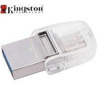 Kingston DataTraveler MicroDuo 3C 128GB USB3 1 Type C OTG Dual USB Flash Drive Pen Memory