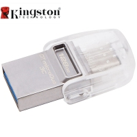 Kingston DataTraveler MicroDuo 3C 128GB USB3 1 Type C OTG Dual USB Flash Drive Pen Memory