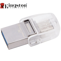 Kingston USB Drive Pen Data Traveler Micro 32GB 64GB USB3.1 Type C OTG Dual USB Flash Drive Pen Memory Stick for MacBook PC