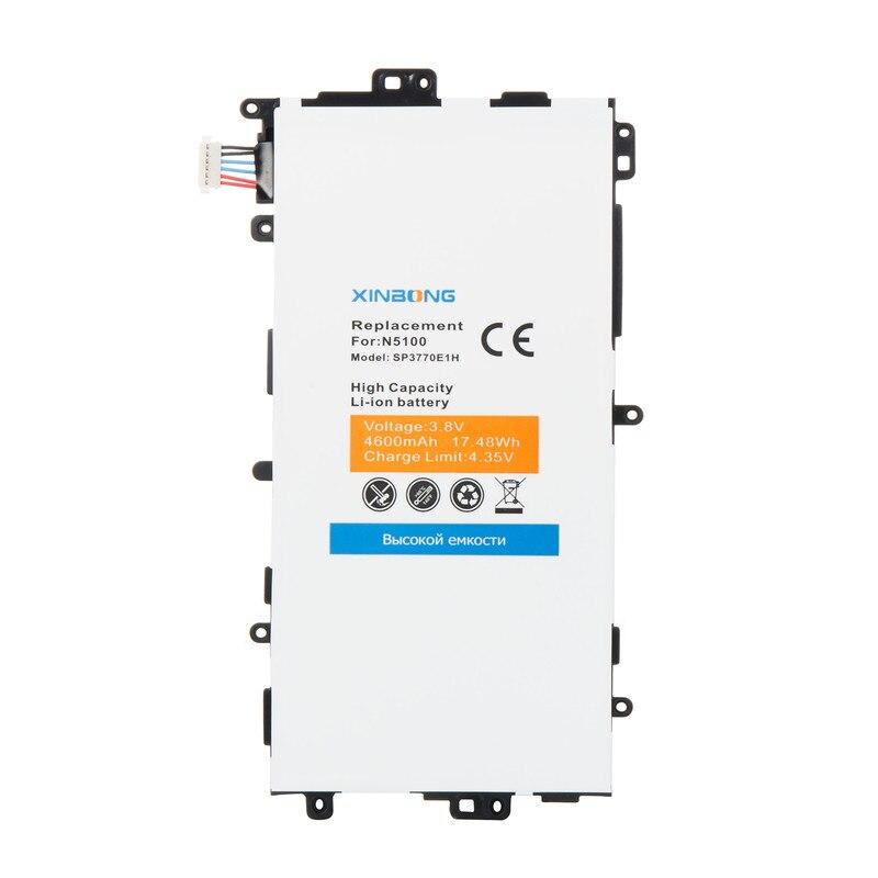 imágenes para SP3770E1H Batería de Repuesto Para Samsung Galaxy Nota 8.0 8 3G N5100 N5120 GT-N5110 GT-N5100 de la Tableta Tab Baterías batería