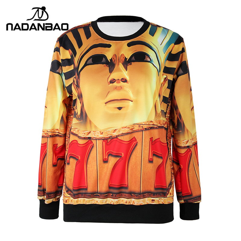 NADANBAO Fashion Autumn Women Hoodies Woman Printed Pullovers Long Sleeve Sweatshirt Loose Women Sweatshirts Clothing