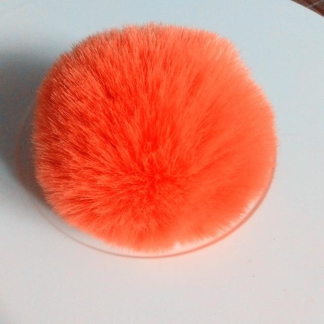 18 cores DIY Faux Fur Pompom Fofo Bola para Sapatos Chapéus Lenços Saco Chaveiros Encantos DIY Fontes Do Ofício de Jóias Acessórios
