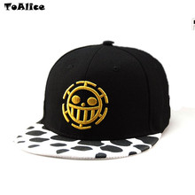 Anime One Piece Hat Baseball Cap Trafalgar Law Hats Cosplay Caps