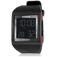 새로운 패션 비즈니스 디지털 다목적 LED 방수 전자 시계 스포츠 남자 야외 수영 GM