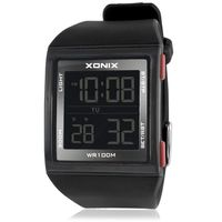 New Fashion Business Digital Versatile LED Waterproof Electronic Watches Sports Men Outdoor Swimming GM