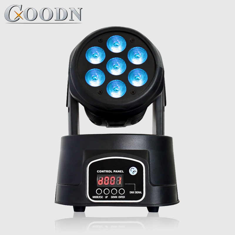 led moving head wash light 7X12W RGBW 4in1 DMX 14CH stage light DJled moving head wash light 7X12W RGBW 4in1 DMX 14CH stage light DJ