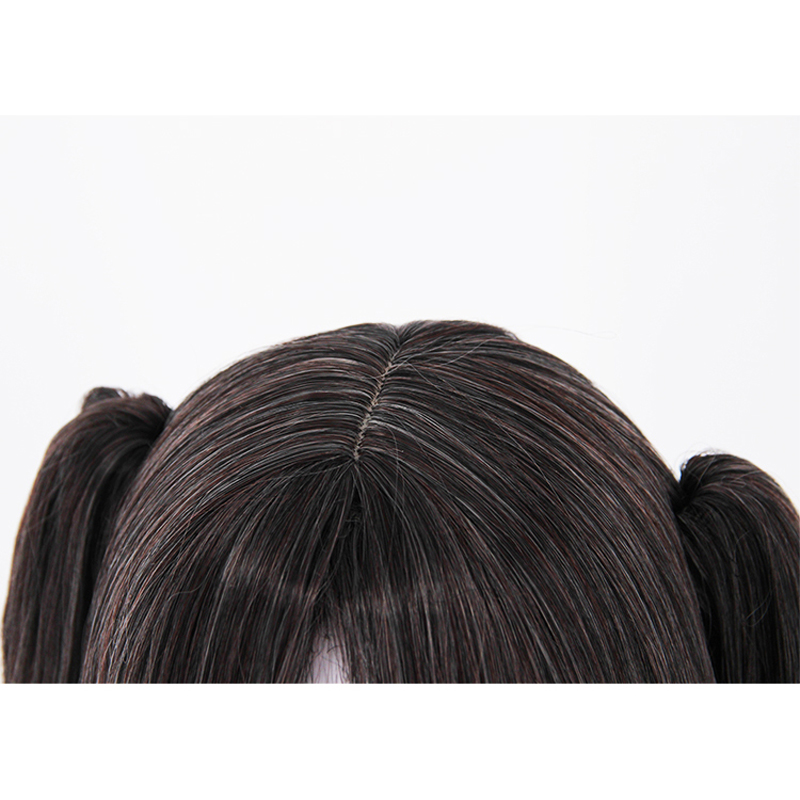 Image 5 - Fate/Stay Night Rin Tohsaka Two Ponytails Wig Cosplay Costume Fate Grand Order Women Long Synthetic Hair Halloween Party Wigs