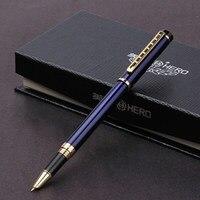 Hero Man Luxury Gift Fountain Ink Pen Nib Box Business High Quality Stationery Office School Pens