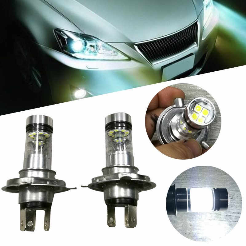 CARPRIE Car Led Light 2X H4 9003 HB2 6500K 100W 20LED HID White 2323 Fog Driving Light Bulbs Drop Shipping 18 Spet 27