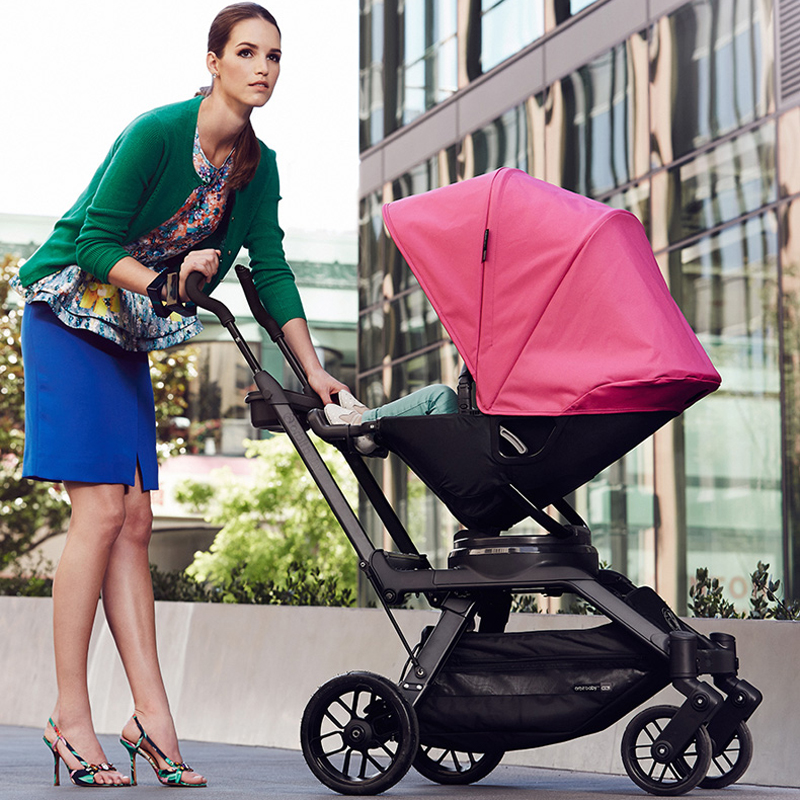 American Popular High Landscape Stroller--Orbit Baby G3 With Rotating Seat , Luxury Imported Foldable Pushchair orbit baby люлька колыбель orbit baby g3 bassinet