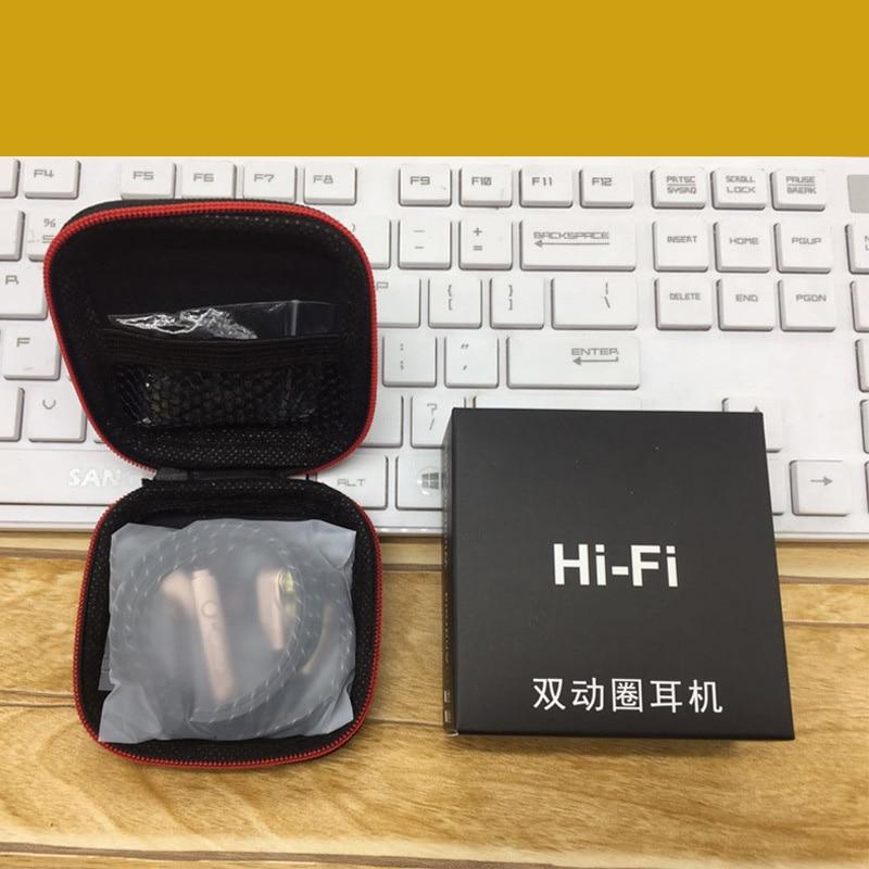 Inpher-X9 Glazba za slušalice Heavy Bass dual-drive stereo In-Ear - Prijenosni audio i video - Foto 6