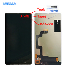 AICSRAD dla Umidigi umi kryształowy wyświetlacz LCD montaż digitizera ekranu dotykowego 5.5 cali wymiana części naprawa + tylna okładka