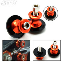 Motorcycle Aluminum swingarm spools slider screws 6mm 8mm 10mm motorbike with ktm logo for ktm all street racing motorcycle