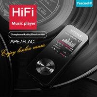 Yescool X2 MP3 плеер FM Радио E-Book HIFI Профессиональный Портативный цифровой звук голоса Регистраторы диктофон фото и видео плеер