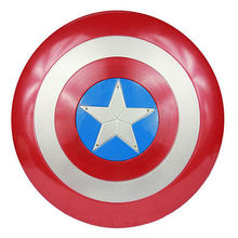 цена Child Captain America Shield For Captain America Thor harrmer Starwars Sound and Light War Cosplay War Costume Kids Toys Gift онлайн в 2017 году