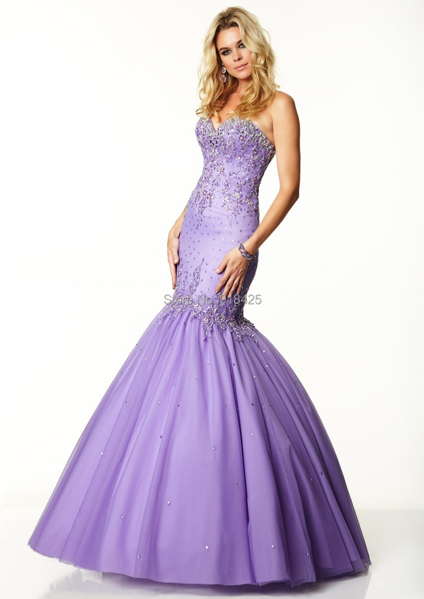 Encantador Vestido De Novia De Sirena De Cristal Ideas Ornamento ...