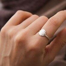 Laramoi versátil francés Plata de Ley 925 línea de dos tonos geometría Simple Vintage anillo con forma de panal para mujeres y niñas