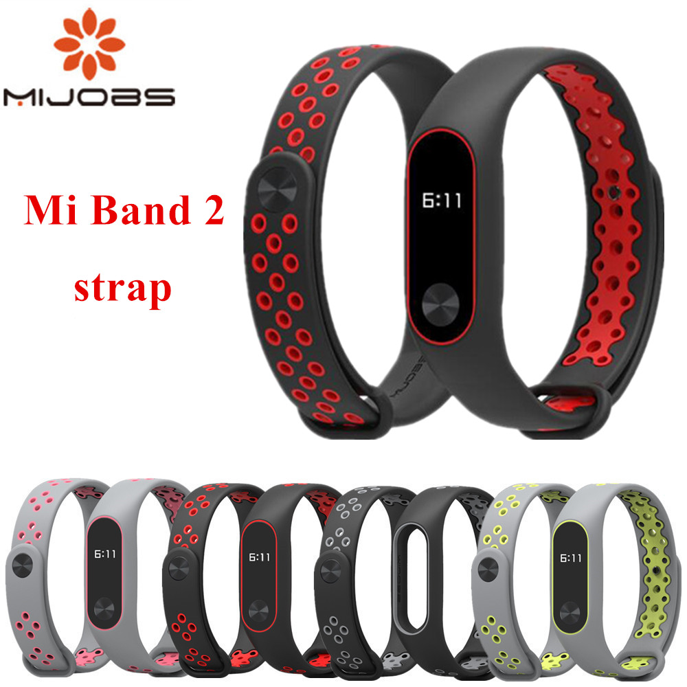 Mi Band 2 Strap Bracelet wrist strap for Xiaomi mi band 2 watch xiomi Mi band2 accessories smart bracelet sport Silicone Strap цена