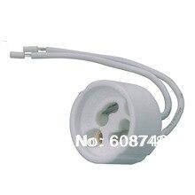 חדש GU10 קרמיקה שקעי, הלוגן, LED הנורה, מנורת בעל למטה אור הולם בסיס משלוח חינם
