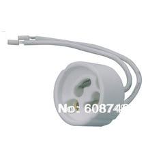 NEW GU10 Ceramic Sockets, Halogen, LED Bulb, Lamp Holder Down Light Fitting Base Free shipping