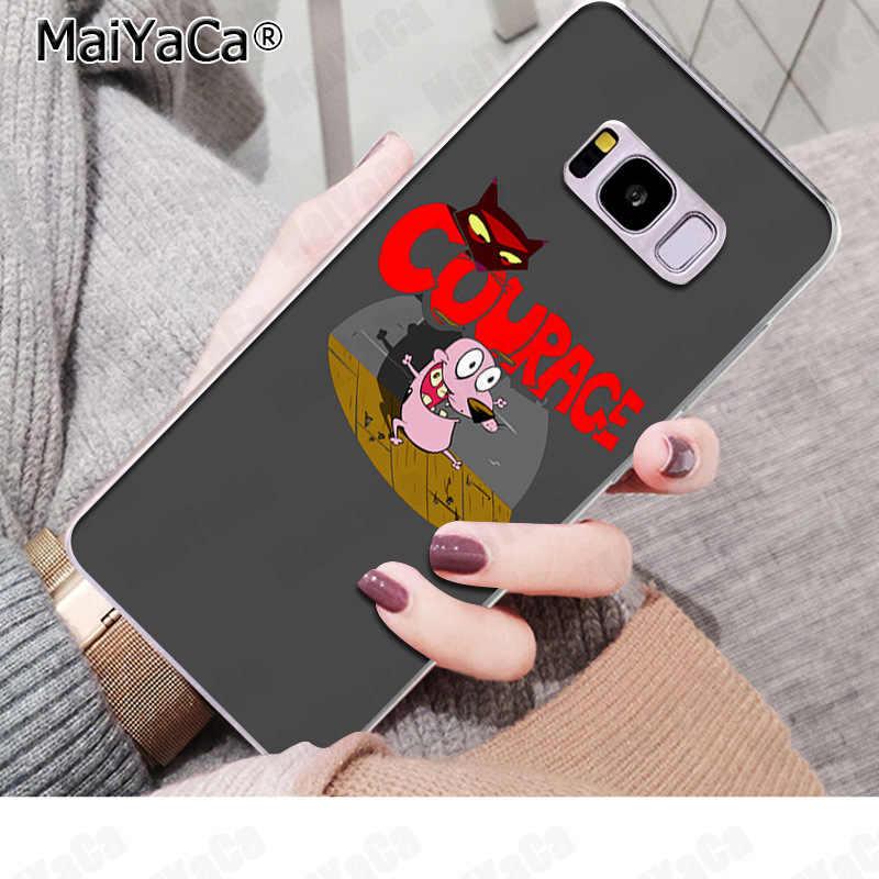 MaiYaCa del perro cubierta del teléfono del patrón de los casos caliente para Samsung S9 S9 más S5 S6 S6edge S6plus S7 s7 Edge S8 S8plus