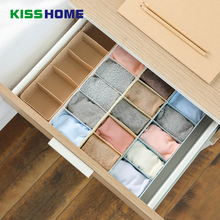 5 Grids Creative Hollow Underwears Storage Boxes Plastic Sundries 7 Color Drawer Organizers For Bathroom Kitchen Office Box