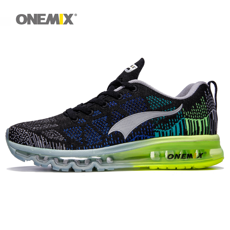 2017 Onemix mens&women running shoes breathable mesh outdoor sport athletic walking shoe size 35-46 free shipping vik max athletic shoe women tricot lined figure ice skates shoes