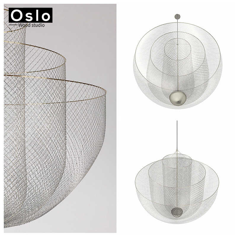 Новый led современные высокие вилла арт личности лампы простая атмосфера цепи люстра Nordic Спальня Гостиная Ресторан огни