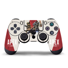 For Apex Legends Vinyl Skin Sticker For PS4 Wireless Controller Gamepad Protective Cover Decal For Playstation 4 Joystick