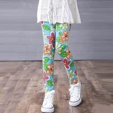 Spring Summer Girls Leggings Long Pants
