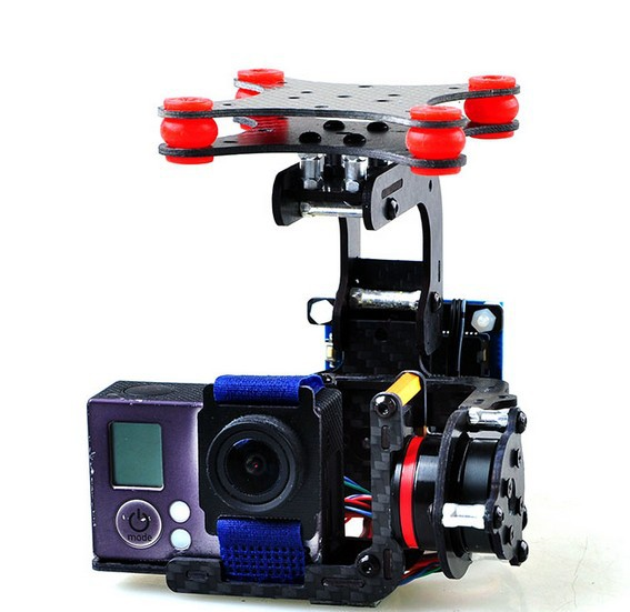 F05683 Brushless Camera Mount Gimbal Full Set Tested For Gopro 3/3+/4 FPV Aerial Photography W/ Motor Control Board tarot brushless gimbal camera mount gyro zyx22 for gopro 3 aerial photography multicopter fpv