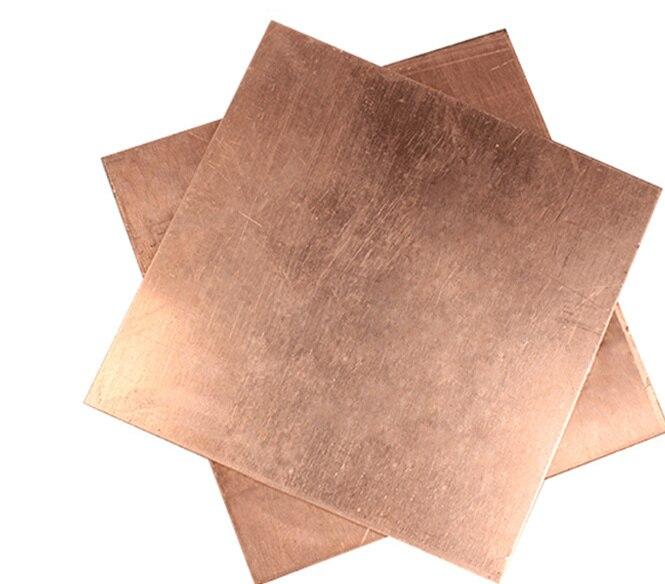 100pcs 15x15x0.3mm Pur Cuivre Refroidissement Plaque Thermique Conductivité