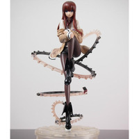 Free Shipping Cool 9 Steins Gate Makise Kurisu 1/8 Scale PVC Action Figure Collection Model Toy Christmas Gifts SG014