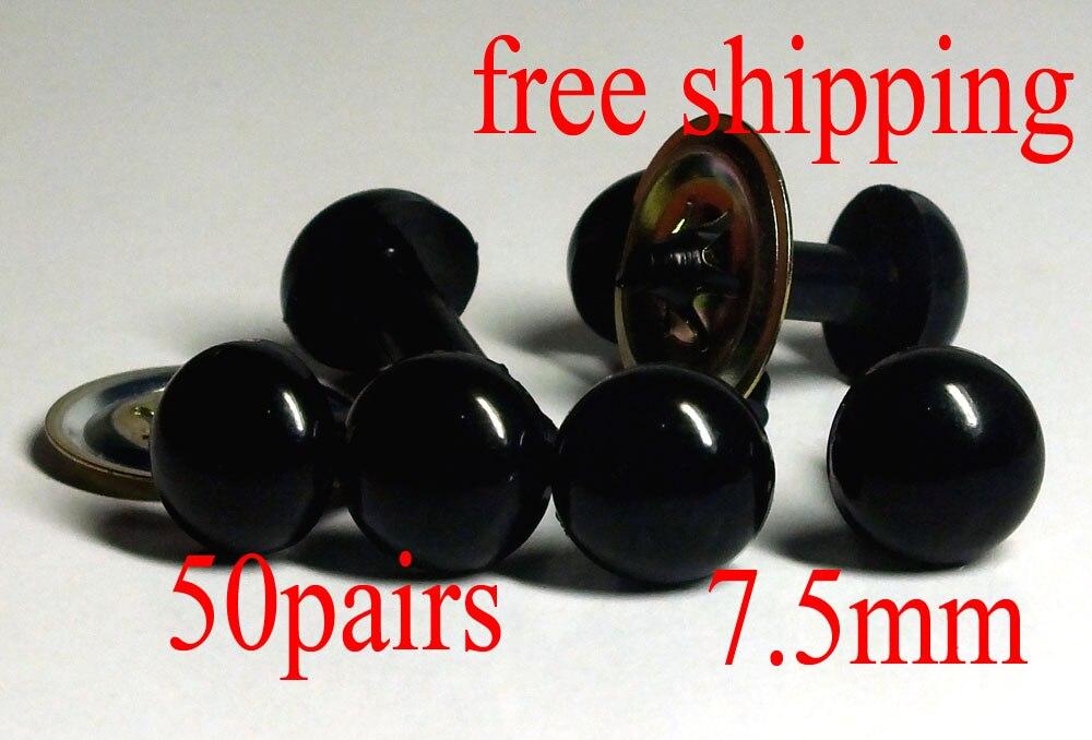 13mm Black Safety Eyes//Plastic Eyes 20 Pairs