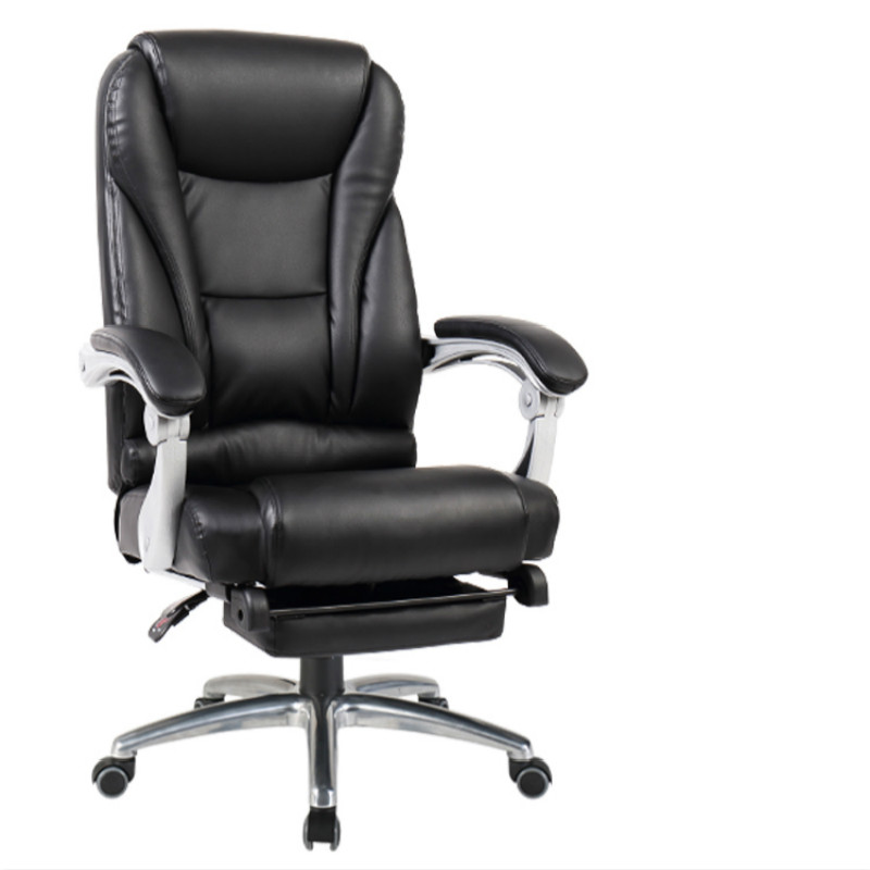 Cowhide Office Chair Household Leather Massage Computer Chair PU Swivel Lift Gaming Chair Reclining Silla Oficina Silla Gamer