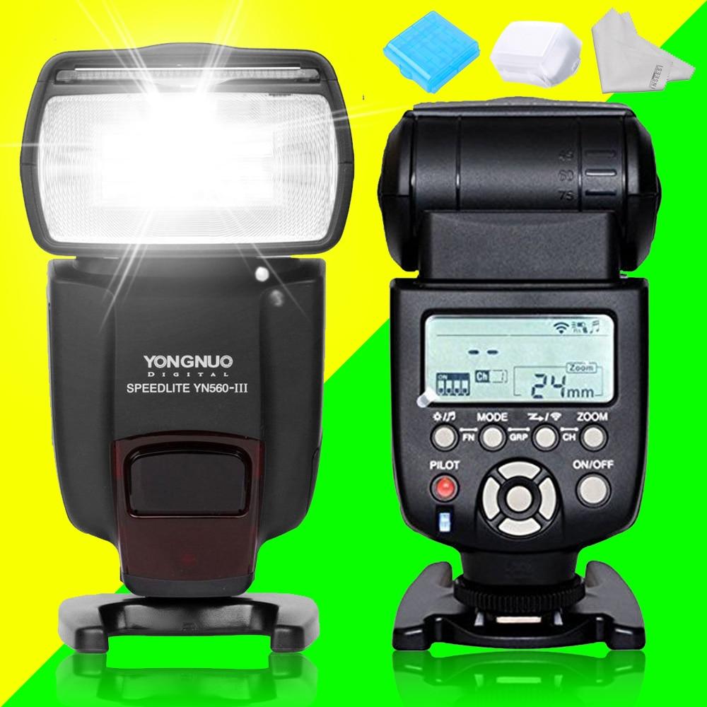 Yongnuo Universal Wireless Flash Speedlite YN560III YN-560III YN560 III SpeedLlight Integrated 2.4-GHz Receiver For Canon Nikon цена и фото