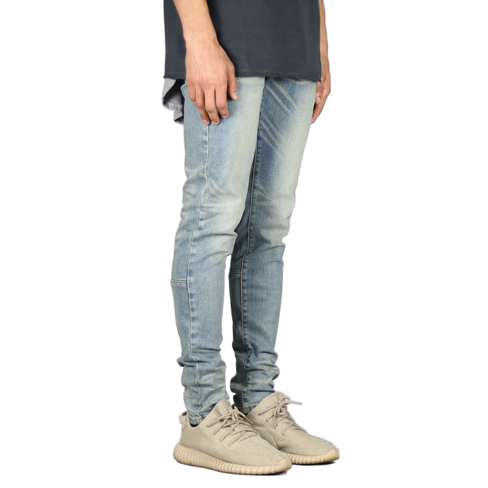 Men Jeans Fashion Stretch Design Skinny Jeans