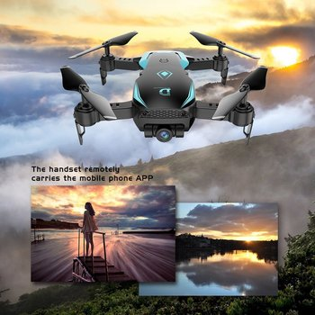 Drone Quadcopter X12 4CH RC Foldable Altitude Hold with Wifi Camera Live Video One Key Return Headless Mode 3D Flip